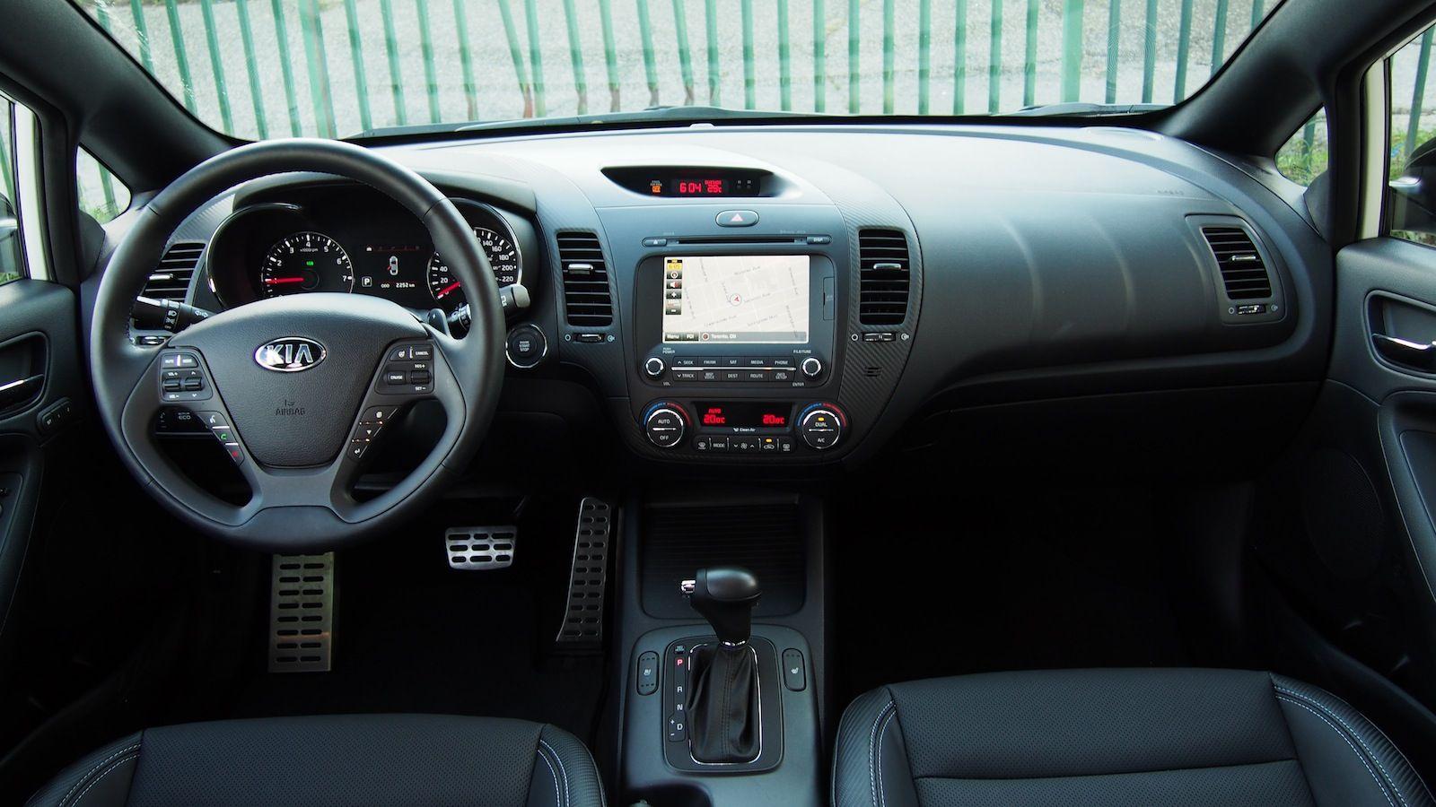 2015 Kia Forte5 Sx Luxury White Dash Interior Kelowna Sedona 250 491 5688