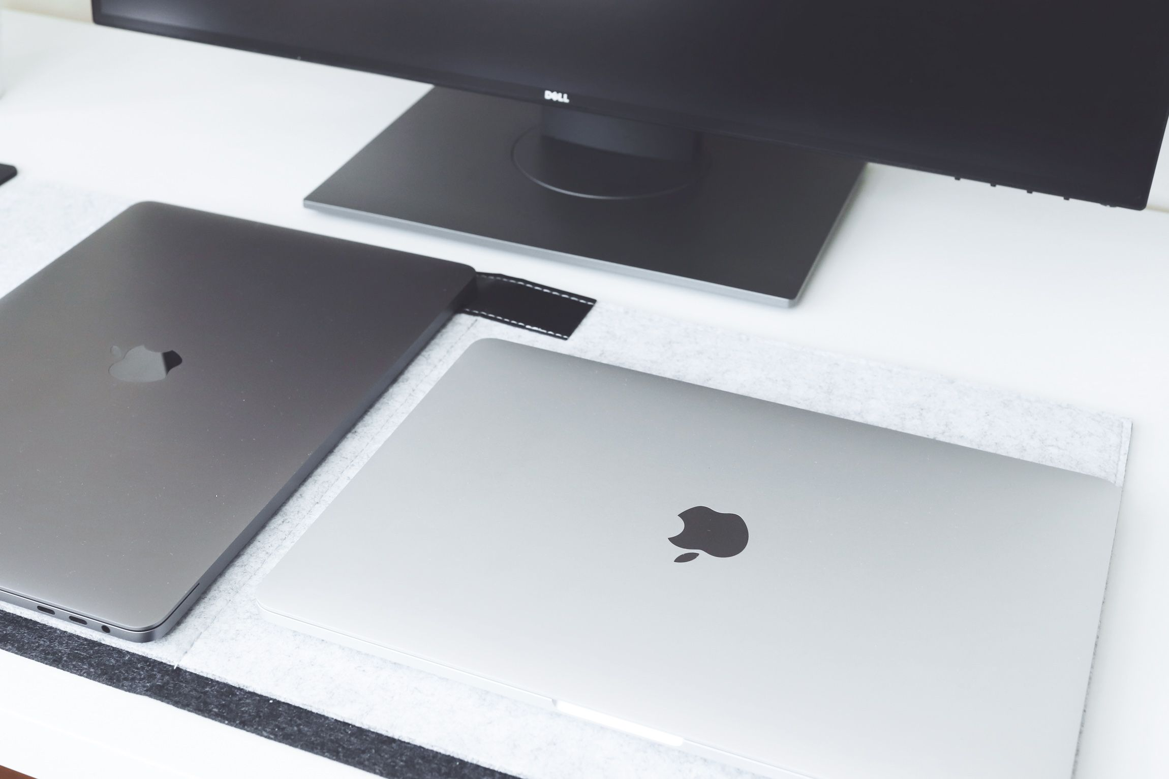 Silver Or Space Grey Macbook Pro Photo By Sleekore Com
