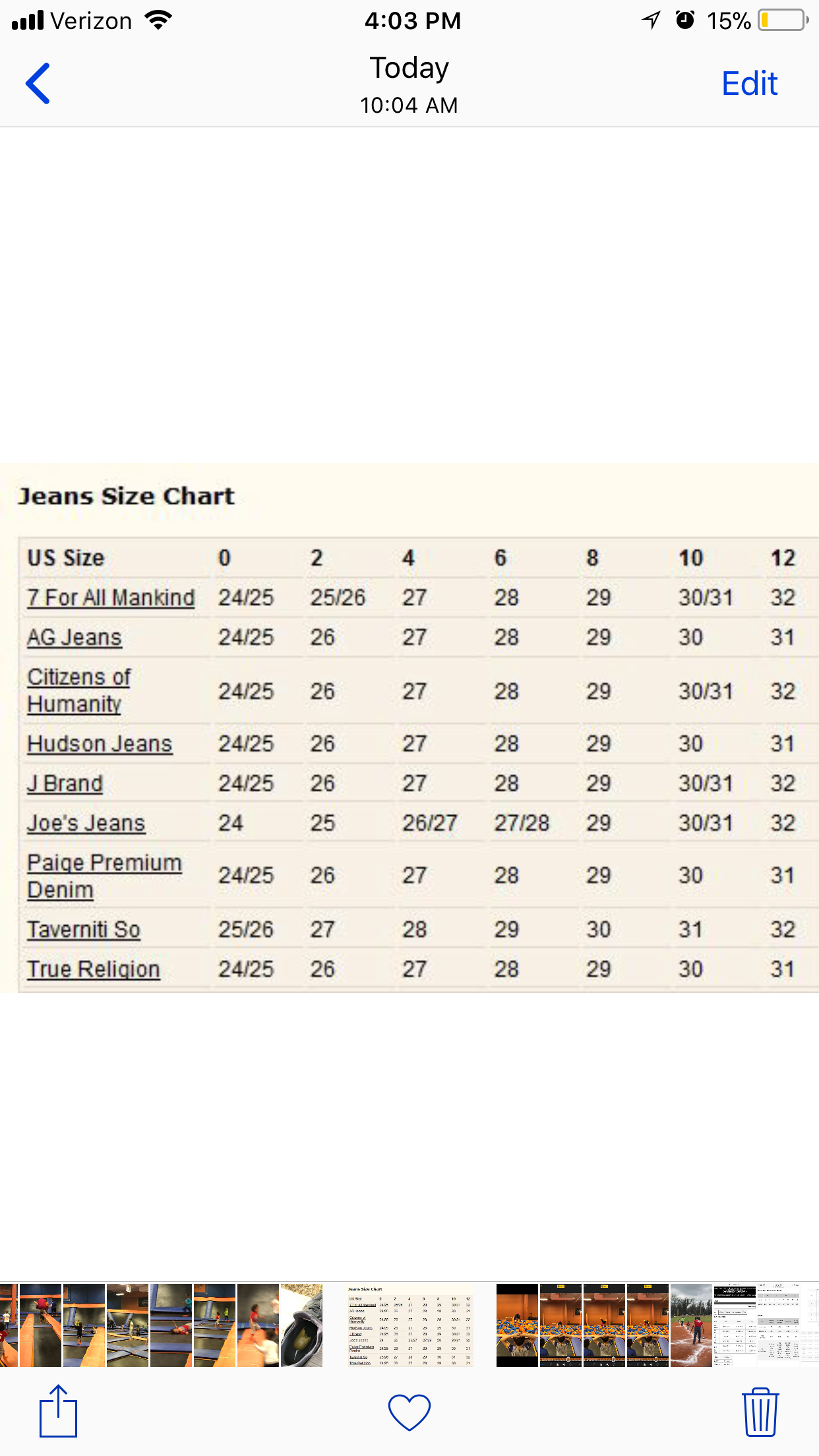 European jeans size conversion chart also my posh closet pinterest rh pl