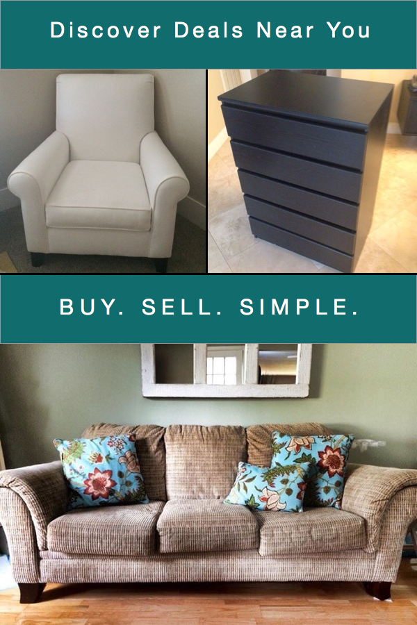 Discover what your neighbors are selling! Browse local items