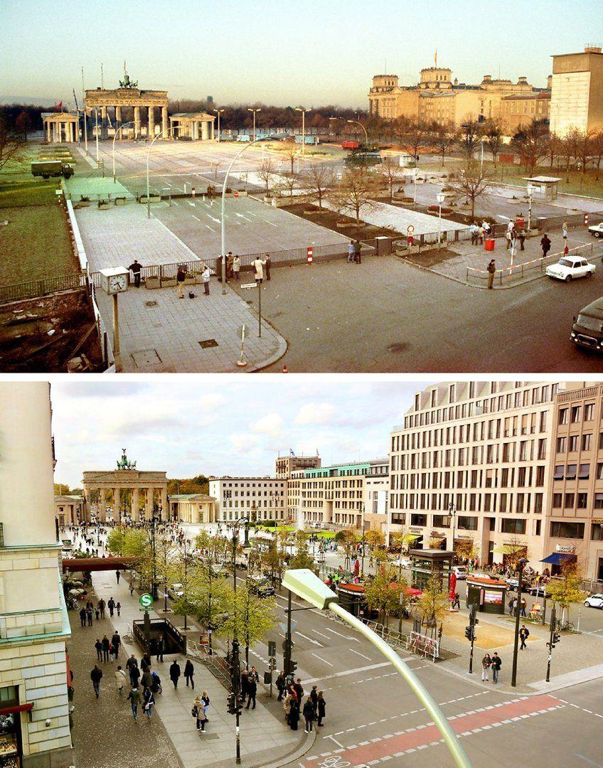 27 Jahre Danach So Sah Berlin Vor Dem Mauerfall Aus Ostdeutschland Berliner Mauer Berlin Geschichte
