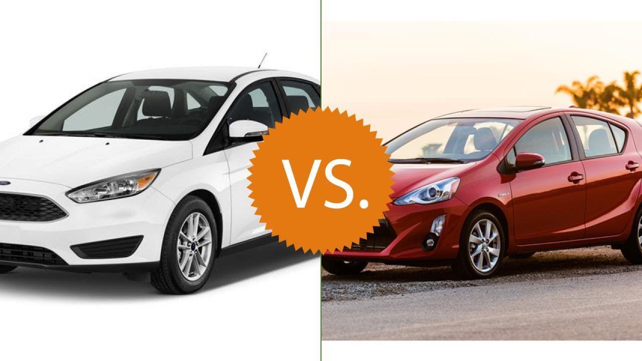 Compare 2016 Ford Focus Vs Toyota Prius C
