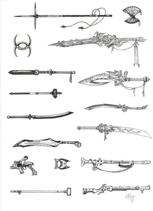 fictional weapons | UPDATE: Now there is totally 102 weapons. If you don't find…