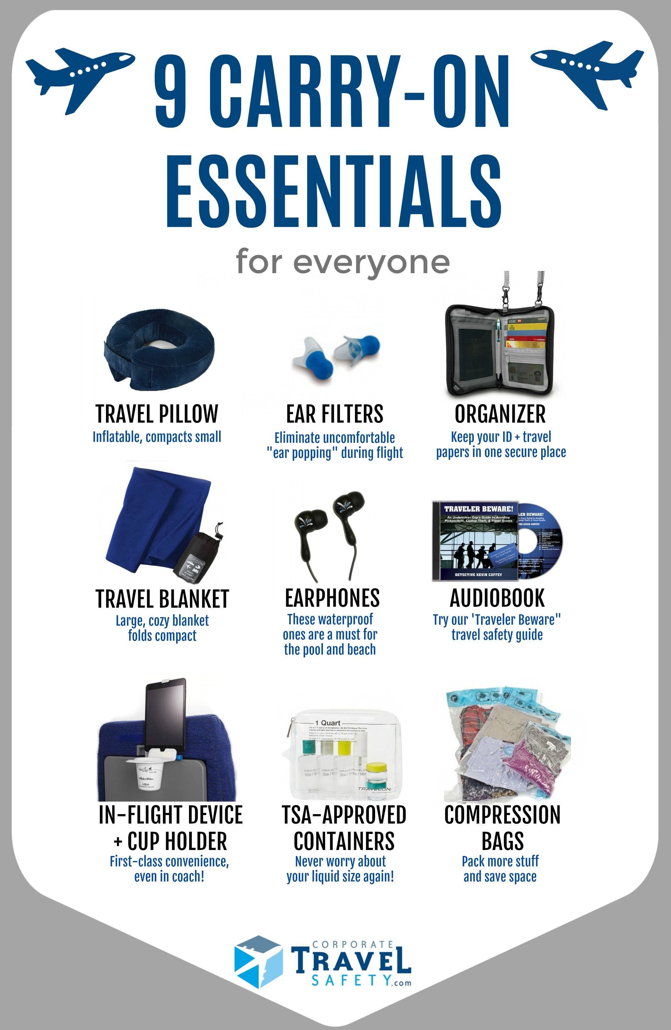 Top 10 Carry-On Essentials For A Smooth Flight | Carry on ...