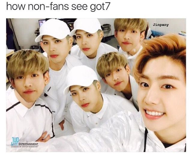 That was me at first :'D | GOT7