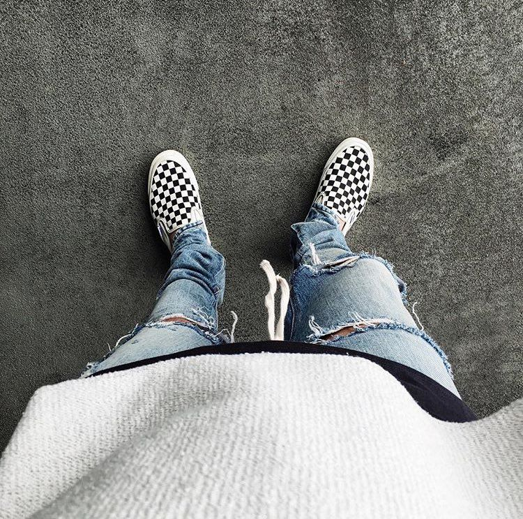Ways to Wear Vans Checkerboard Sneakers | Van Vans and Sneakers