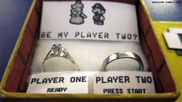 Marriage Proposal For All Nintendo Fansthe geek in me TOTALLY