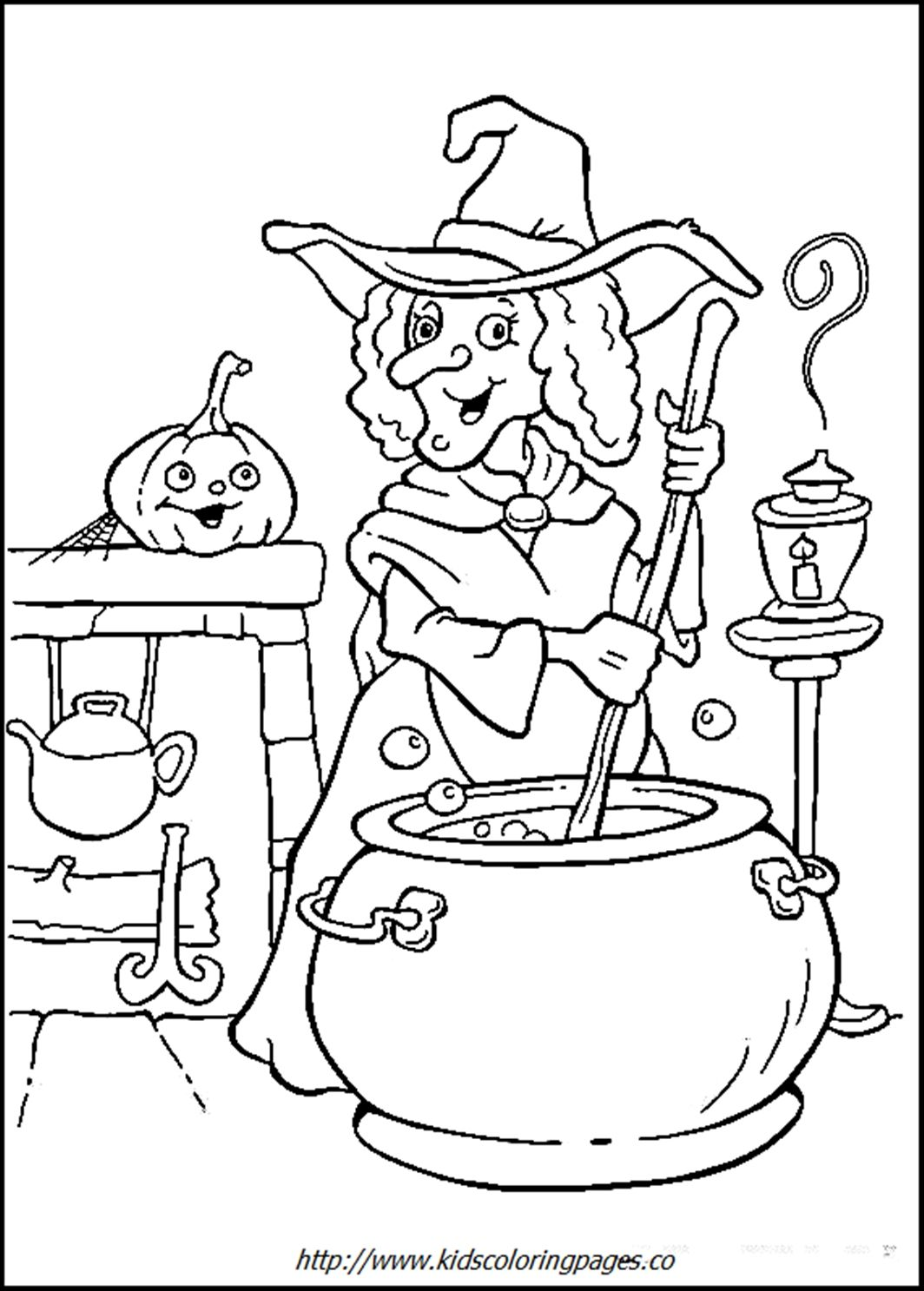 Free printable coloring pages halloween | Halloween | Pinterest