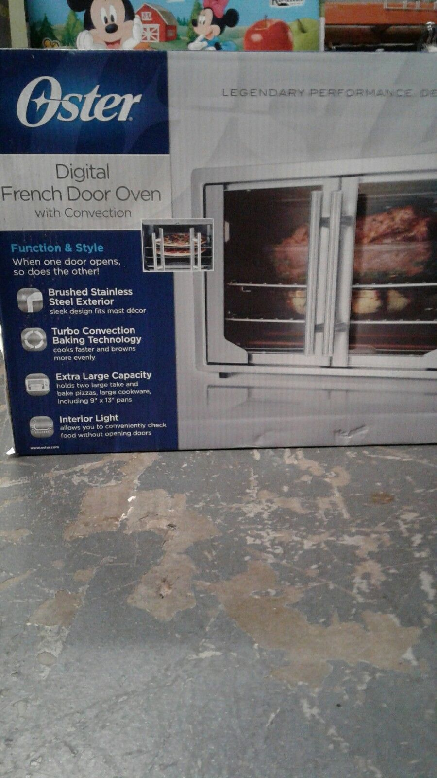 Oster Tssttvfddg Digital French Door Oven Stainless Steel Extra