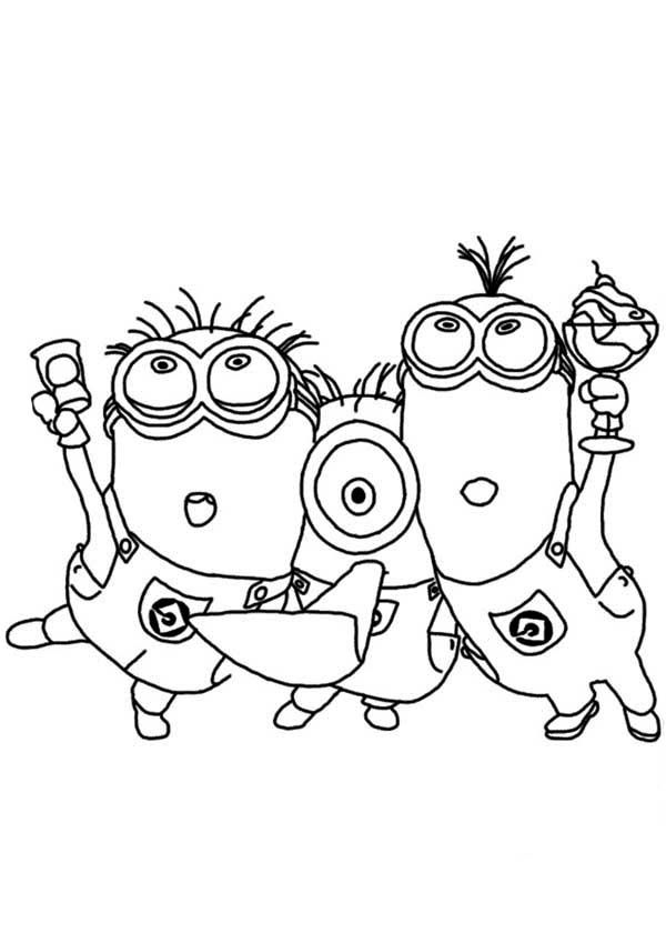 coloring pages minions - Google zoeken | Minions | Pinterest