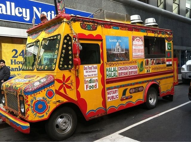 Indian Food Truck Notary Public