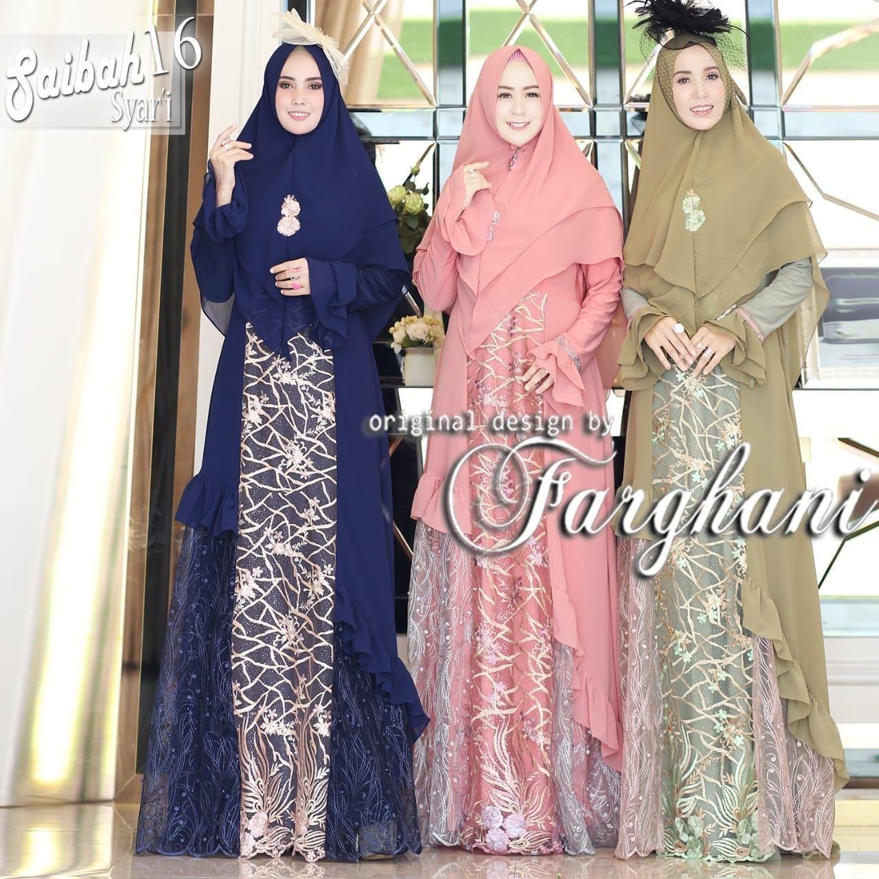 Belanja Saibah 16 By Farghani Gamis Branded Original 100 Indonesia Murah Belanja Baju Muslim Jumpsuit Di Lazada Free Ongkir Baju Muslim Muslim Belanja