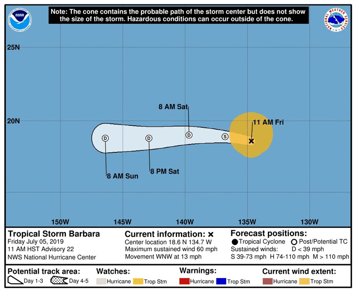Officials Pushing Preparedness As Tropical Storm Barbara Nears The State Hawaii News Now Tropical Storm Hawaii News Now Hurricane Preparedness