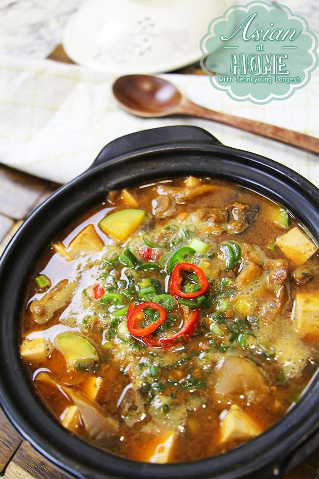 Doenjang Jjigae Korean Fermented Soybean Paste Soup Recipe Seonkyoung Longest Recipe Soybean Paste Soup Recipe Recipes Food