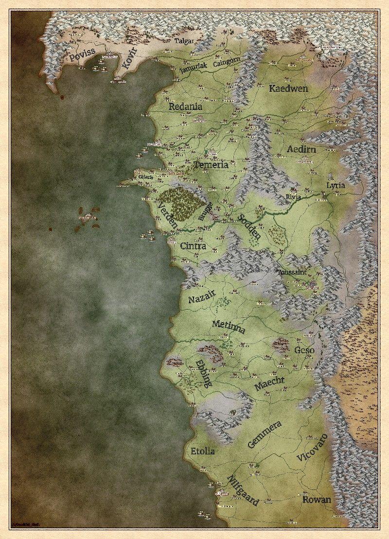 The Witcher Karte.Pin By Rachel Franzen On Witcher Art In 2019 Witcher Art