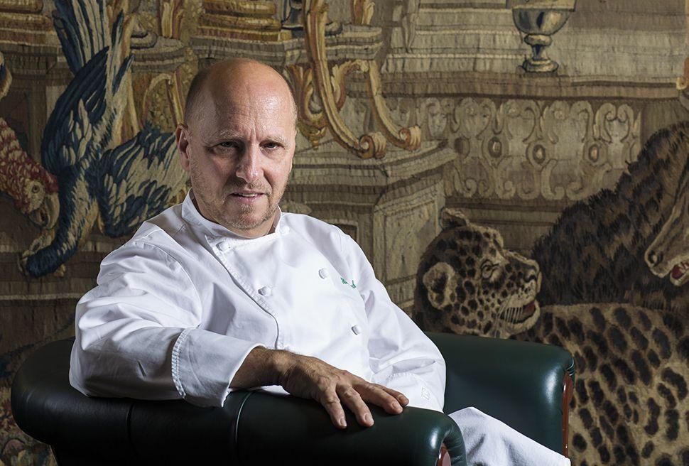 Heinz Beck Ristorante La Pergola roma kitchenimpossible