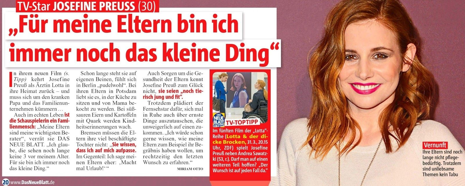 Josefine Preuß - NEWS