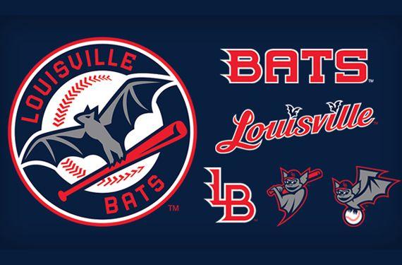 Minor League Baseball Opens Season With 11 New Look Teams Louisville Bats Minor League Baseball Logos