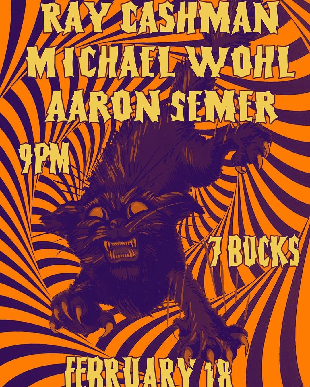 Ray Cashman, Michael Wohl and Aaron Semer at Tim's Tavern, Seattle on February 18 don't miss this acoustic triple threat. @m_wohl @aaronsemer #knickknackrecords #seattlemusicians #seattlebands #seattlemusic #seattlelivemusic #livemusic #acousticguitar #guitars #music