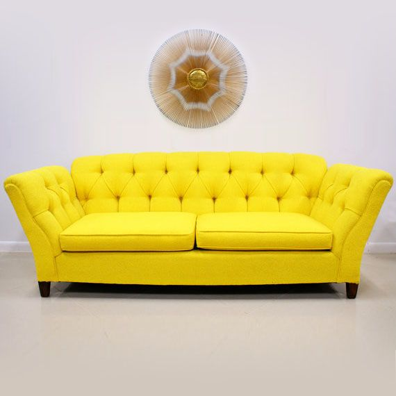 i love this sofa - Yellow Couch