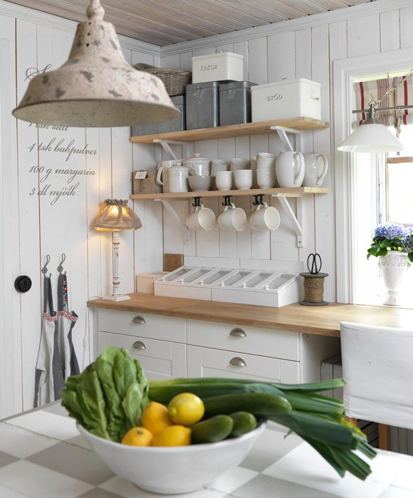 Schwedische Landhauskuche Decorating Pinterest Kitchen Home