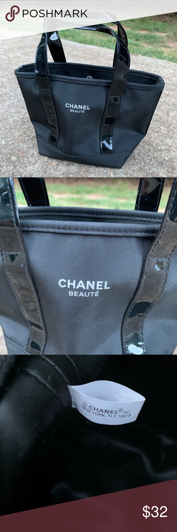 Chanel Beaute Makeup Bag Small Chanel bag, Bags, Small bags