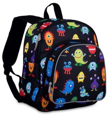 972a5e9dc33c Olive Kids Wildkin Monsters Pack  N Snack Backpack in Black ...