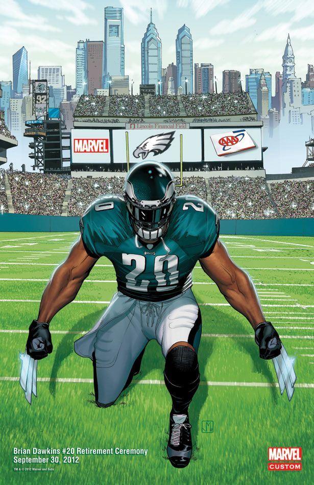 Marvel Comic Tells The Story Of SWOOP Brian Dawkins e7963d689