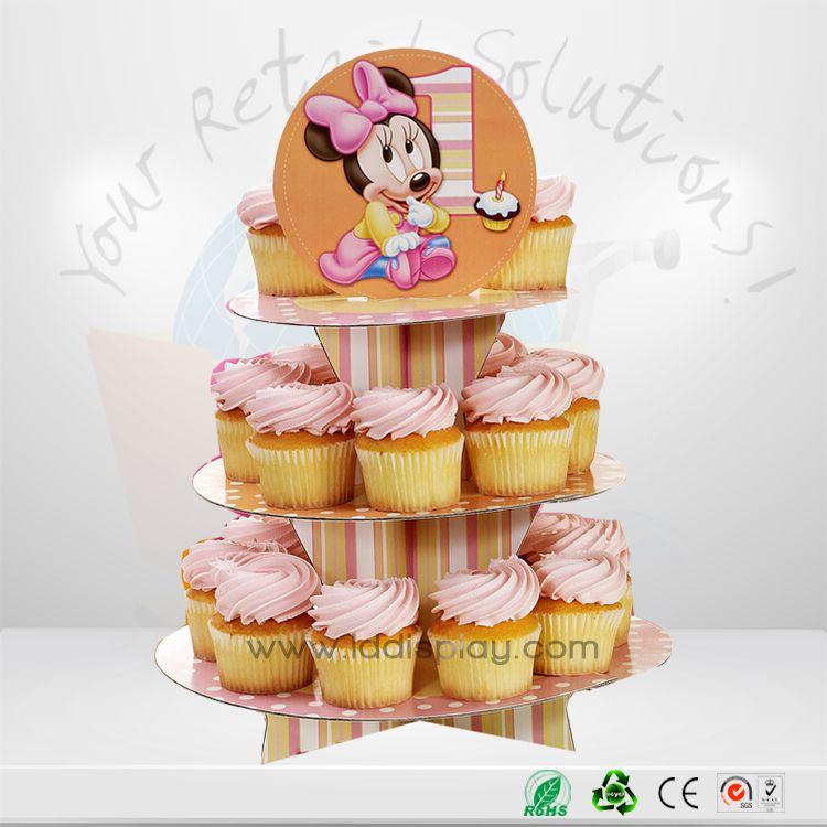 Christmas Tree Cupcake Stand Cardboard Cupcake Stand Cupcake Display Cardboard Cake Stand