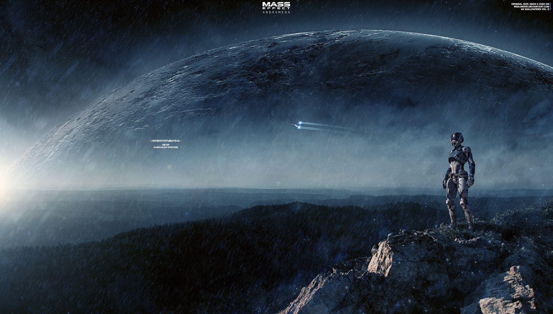 Artstation Discoverer Mass Effect Andromeda 4k Alexander Manakhov In 2020 Mass Effect Background Images Mass Effect Universe