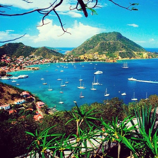 Travel Scenery: Wonderful Scenery From Les Saintes Bay In Guadeloupe