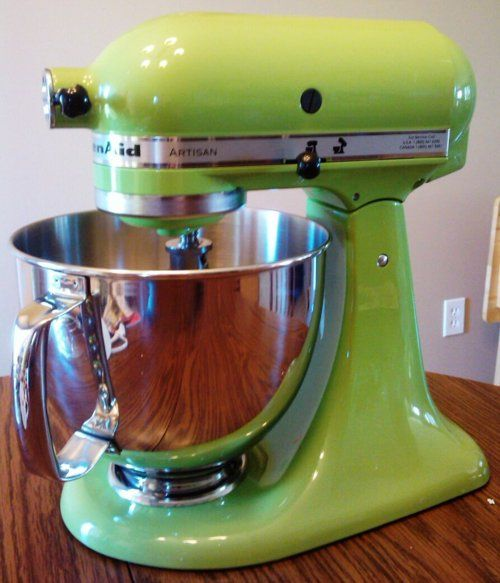 Attractive KITCHEN AID Artisan Mixer Green Apple (Apple Green | Products I Love | Pinterest & Apple Green Kitchenaid Mixer - Home Design Ideas and Pictures