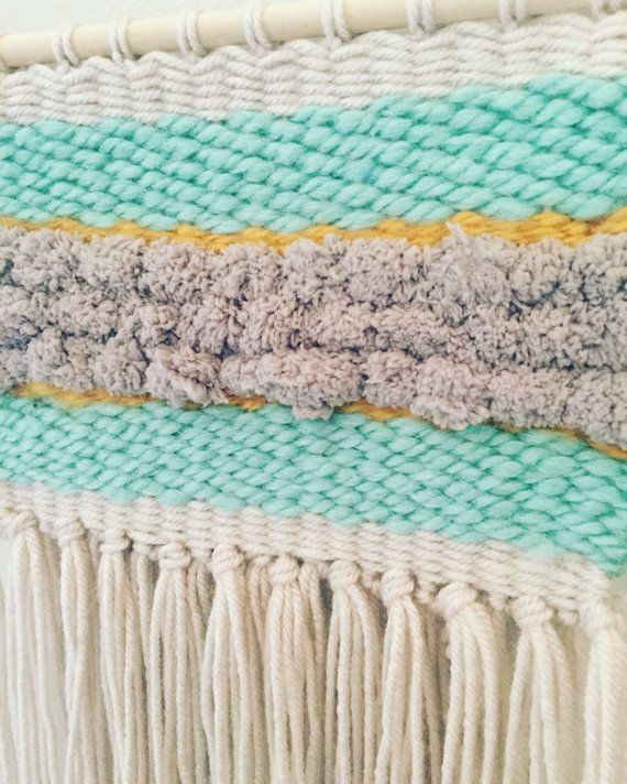 Woven Wall Hanging by DontForgetToFly on Etsy