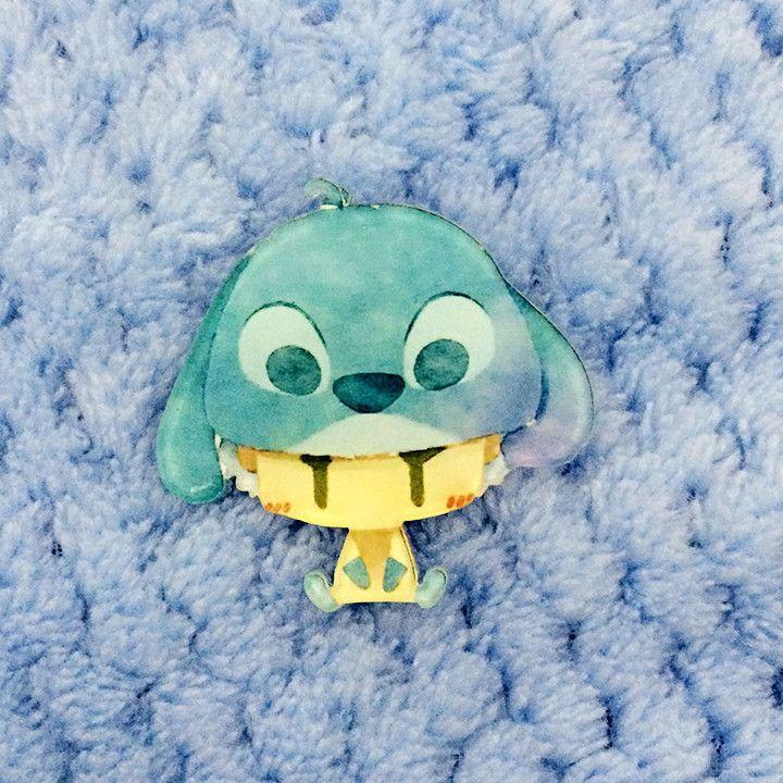 1 PCS Cartoon Character Pins Kawaii Harajuku Acrylic Badges Backpack Pin Badge Decoration