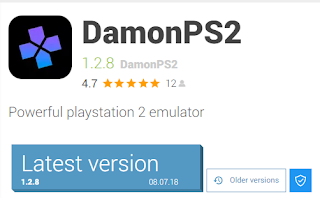 DAMON PS2 1 2 8 LATEST VERSION WITH BIOS - PS2 Emu for Android