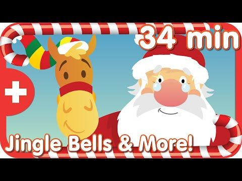 Jingle Bells More Classic Kids Songs Christmas Kindergarten Preschool Christmas Christmas Songs For Kids