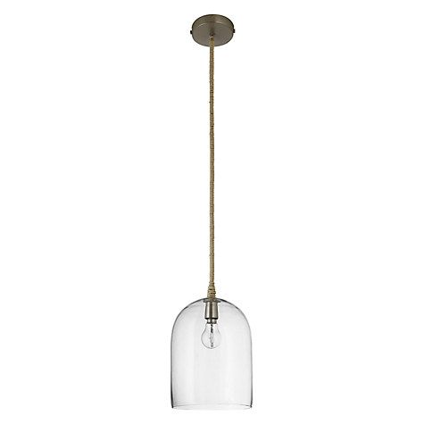Buy john lewis cloche glass pendant ceiling light online at buy john lewis cloche glass pendant ceiling light online at johnlewis aloadofball Image collections