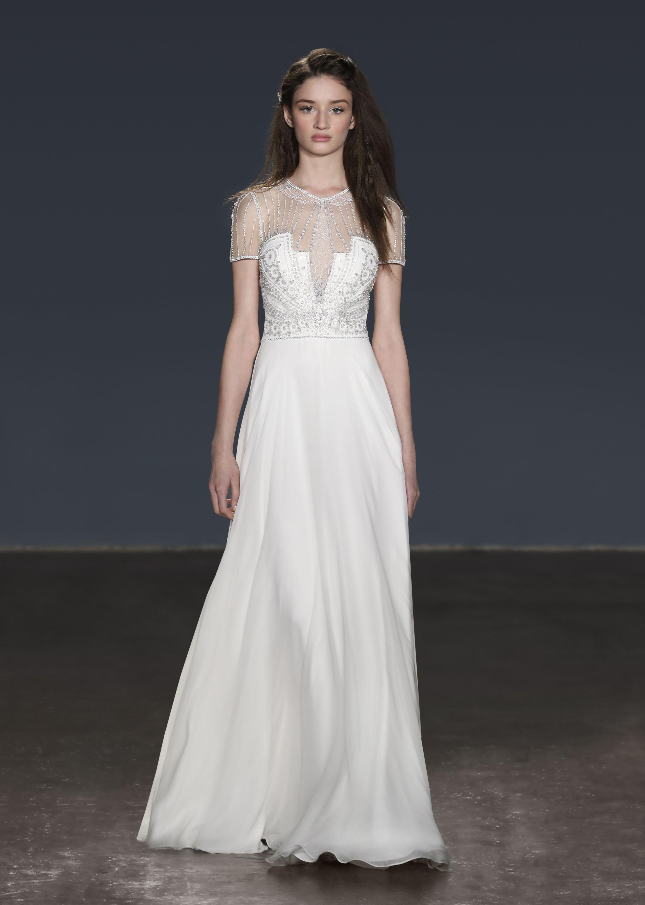 2018 Bridal Jenny Packham Destiny Wedding dresses