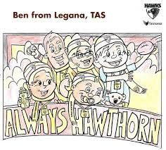 Image result for afl teams colouring pages | hawks rule stuff ...