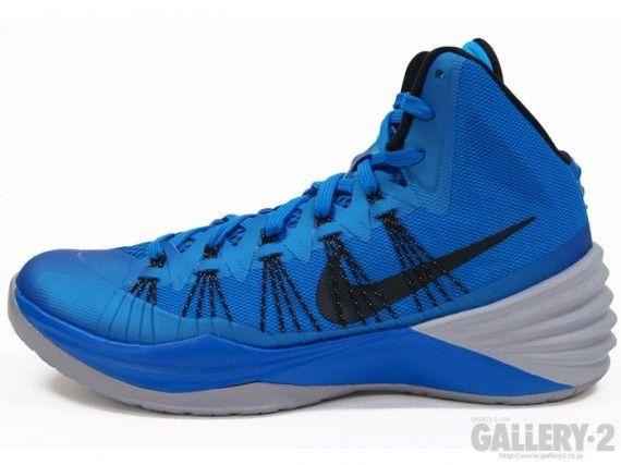 Nike Hyperdunk 2013 Blue Black Grey