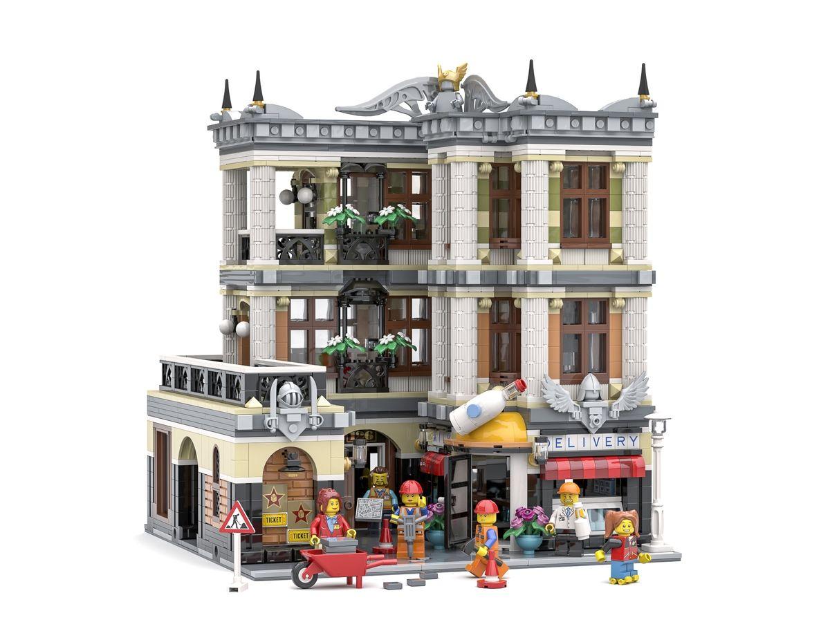 The Architect S Office レゴ 建物 レゴ作品