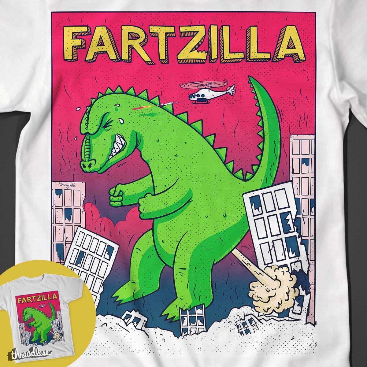 Fartzilla on Threadless