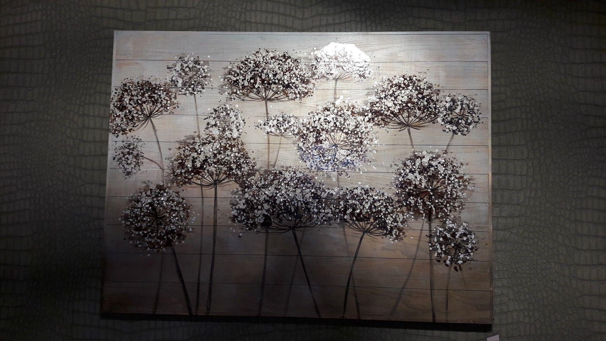 Schilderij op hout kamer