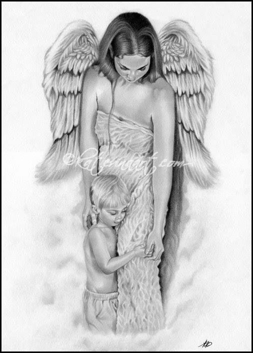 Moeder Kind With Images Angel Drawing Angel Art Angel Sketch