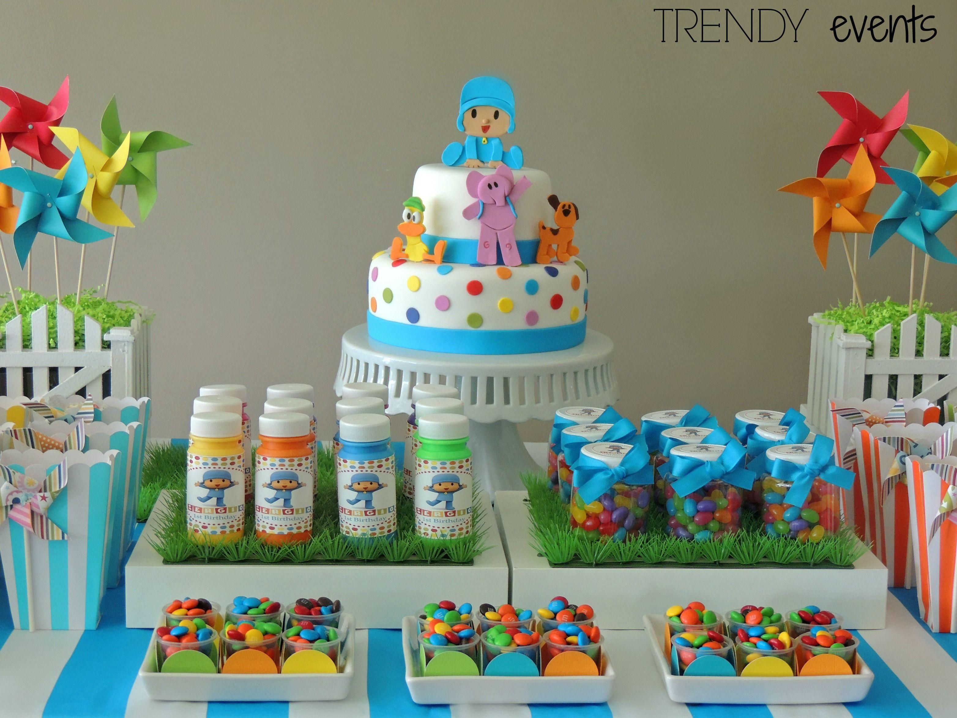 Pocoyo party ideas by trendy events - Ideas para fiestas de cumpleanos infantiles ...