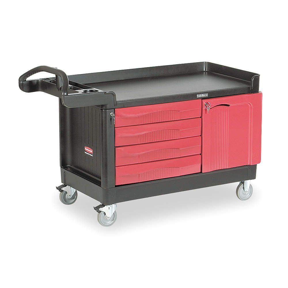 Rubbermaid Commercial Products 33 25 In Utility Cart Rubbermaid