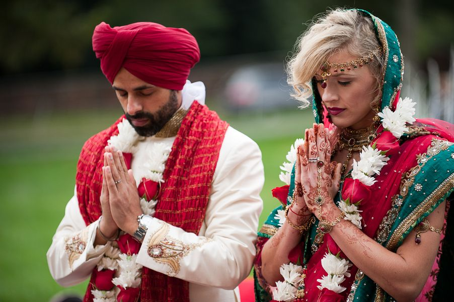 Megan Pritpal S Traditional Indian Wedding A Multicultural Affair In Washington Dc
