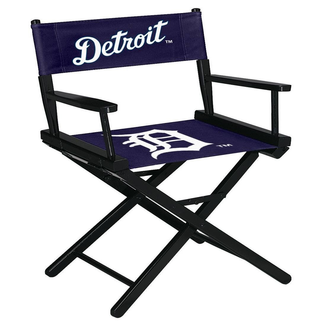 The Mlb Table Height Directors Chair Detroit Tigers