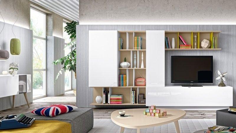 47 idées déco de meuble tv | meuble tv, tv et idee deco - Meuble Tv Bibliotheque Design