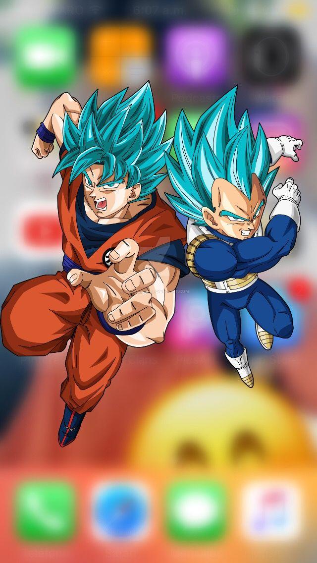 Fondo De Pantalla Goku Y Vegeta Pantalla De Goku Fondos De